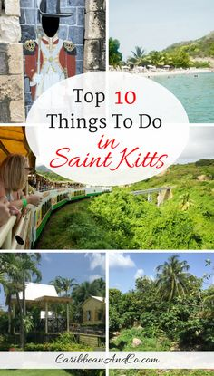 The beautiful island of St Kitts is known for its rainforest mountains and beaches of white, gray and black sands. Beyond this there are many cultural and historic attractions that make it an inviting destination to travel to the Caribbean for vacation. Check it out the list of top 10 things to do in St Kitts!