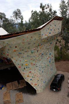 Ryan Held Climbing wall