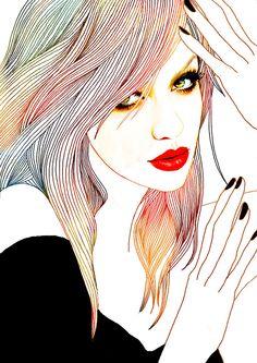 Hajin Bae (a.k.a. soulist-aurora) #Illustration