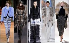 Fur. Parisian runways paid to homage to fall's fiercest and biggest trend. -  Kenzo, Andrew Gn, Maxime Simoens, Valentin Yudashkin and Ungaro