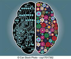 Left Side Of The Brain Art Left and right side of the