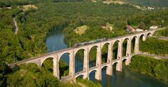 Cize–Bolozon Viaduct: A Rail-Road Crossing Bridge in France