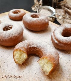 Sourdough Doughnut Recipe, Sourdough Recipes, Sourdough Bread, Amish Recipes, Bread Recipes, Donut Recipes, Cooking Recipes, Doughnut Cake, Muffins