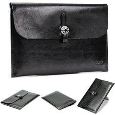 Urcover® iPad Mini & Mini 2 (8 Zoll) Tablet Hülle Sleeve Tasche Fashion Designer dpark Style Schutz-Hülle Retro Case, Vintage Cover | Schwarz