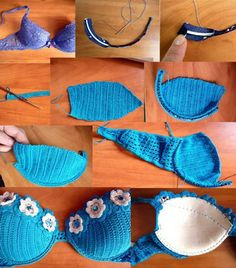 Breast size and secrets for a knitted swimsuit crochet We knit a swimsuit for a small and large chest Small chest Swimsuits for small breasts are lighter, but Crochet Lingerie, Crochet Bra, Crochet Bikini Pattern, Crochet Halter Tops, Crochet Bikini Top, Crochet Woman, Crochet Blouse, Crochet Crafts, Crochet Clothes