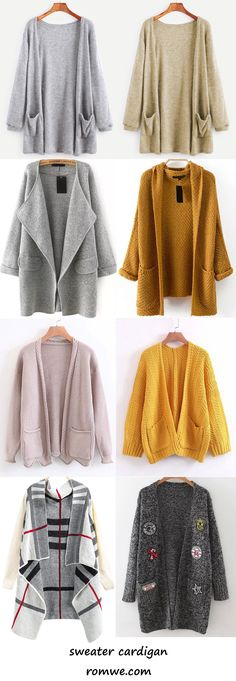 sweater cardigan 2017 - romwe.com