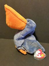 Ty Teenie Beanie Baby Stretchy The Ostrich Mcdonalds High Safety Toys & Hobbies