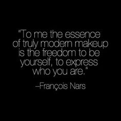 Shout it from the rooftops, Mr. Nars!