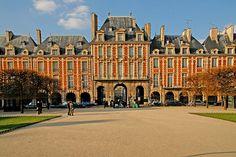 París, la plaza Real o de los Vosgos