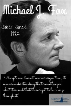 Michael J. Fox - you inspire and give hope. You are a steadfast and solid role model. Thank you for you many years of service.  www.serenityvista.com can help you recover too