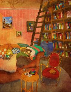 Sleeping during a cold winter night - Puung