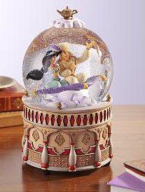 Aladdin snow Globe... I love that movie and I love snowglobes!!