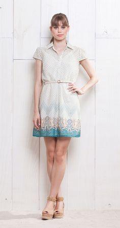 Vestido Estampa Escafandro | Lookbook | Antix Store