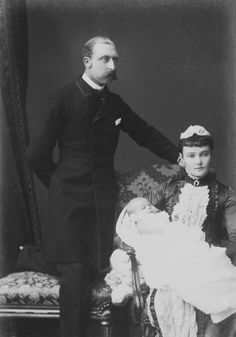Arthur William and Luise Margarete and Margaret Victoria