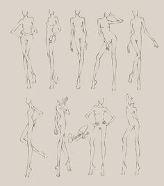 Free Fashion Croquis 05 Re-Upload Donate CROQUIS RULE!Croquis are free to use as long as you don't use them for monetary gain which includes virtual currencies.If I don't get a dime from th. Fashion Design Sketchbook, Fashion Design Portfolio, Fashion Design Drawings, Fashion Sketches, Fashion Drawing Tutorial, Fashion Model Drawing, Fashion Figure Drawing, Fashion Illustration Poses, Fashion Illustration Template