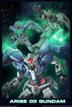 •Arise 00 Gundam by alphaleo14