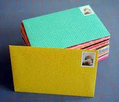 Resultado de imagem para diy envelopes
