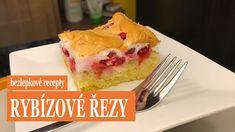 Bezlepkové rybízové řezy podle rodinného receptu ze Slovenska jsou ideální moučník pro letní sezonu, kdy je všude spousta ovoce. Lehké piškotové těsto a nádivka ze sněhu a ovoce dodají tomuto moučníku zajímavý nádech a strukturu. Vyzkoušejte ho a nebudete litovat! #bezlepkové #recepty #bezlepkový #recept #rybízové #řezy #radyzezivota #glutenfree #recipes #recipe #sweet audiosource: bensound.com Gluten Free Recipes, Free Food, Pudding, Desserts, Flan, Postres, Puddings, Deserts, Dessert