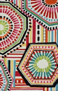 Rugs USA Fergana Kaleidoscope Multi Rug