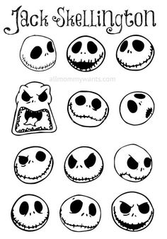 Jack wallpaper and halloween image back grounds pinterest diy jack skellington ornaments video the nightmare before christmas is creative inspiration for us get more photo about home decor related with by solutioingenieria Image collections