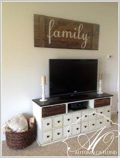 DIY board and batten decorative shutter.