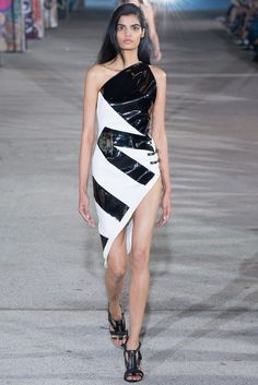 Fashion - women's clothing - www.dbfashionbox.com . Anthony Vaccarello Spring 2015 Ready-to-Wear - Collection - Gallery ✿. ☺