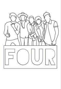 One Direction Drawings, One Direction Images, One Direction Wallpaper, Harry Styles Wallpaper, I Love One Direction, Colouring Pages, Coloring Books, Harry Styles Drawing, 1d Songs