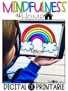 These digital or printable Mindful Activities can be used at home, in the classroom, or through distance learning. The digital version is compatible for Google Slides.