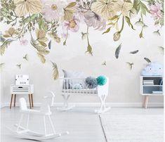 Kids Room Wallpaper, Custom Wallpaper, Wall Wallpaper, Kids Wall Murals, Murals For Kids, Living Room Background, Smooth Walls, Wall Decor, Square Meter