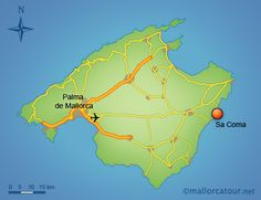 Soller Tourist Information and Travel Guide Majorca Pinterest