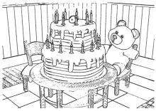 Ausmalbilder Zum Geburtstag Geburtstagstorte Kerzen Happy Birthday Geburtstag Happy Birthday Geburtstagstorte