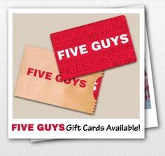 5 guys and fries coupons