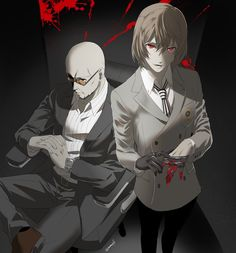 I really can't get over the fact that Shido looks like Pitbull and Akechi is Yagami // Sorry about that. This art is really amazing! Persona 5 Goro, Persona Five, Persona 5 Anime, Persona 5 Memes, Goro Akechi, Ren Amamiya, Best Rpg, Shin Megami Tensei Persona, Akira Kurusu