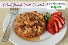 Nutrisystem Recipe Ideas Baked French Toast Casserole