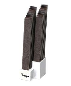 WWD051 MDF Floor Stand Staggered Tile Display Rack