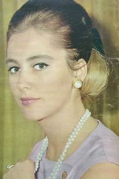 Queen Paola of Belgium. She was very beautiful back then!