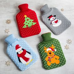 Cold? Warm up with the Knit Hot Water Bottle.    Whether you're looking for stocking stuffers, Secret Santa presents, festive Christmas decor or even gift cards, we have a huge selection of unique holiday stuff to make your days and nights merry and bright.