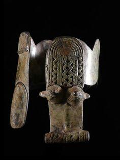 Africa | 'Dekoggoro' Arm Band. Gan peoples, Burkina Faso.| Bronze | ca 1950s