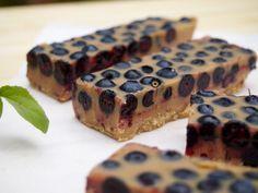 Lovely lucuma-blueberry fudge