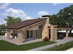 Village House Design, Village Houses, Simple House Plans, Dream House Plans, Dream Home Design, Modern House Design, Facade Design, Architecture Design, Online Architecture