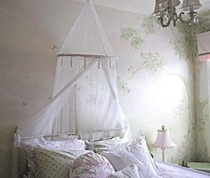 Beautiful Wall Mural for little girl's room.