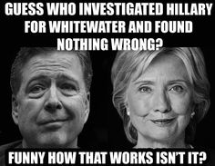 LATEST UPDATE:  COMEY was the one who let Hillary and Bill 'off' in their first big scandal, Whitewater in 1996.  It is also said that he ...-- Comey 'Intent' On Finding A Way Out For Hillary, Emails https://wakeamerica1.blogspot.com/2016/07/comey-intent-on-finding-way-out-for.html via @@theroad2success @wakeamericanow