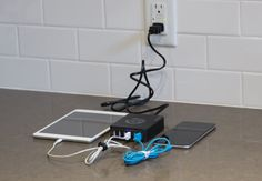 Tired of losing chargers & cables? The Omni Charge 6 Port Charging Hub finally puts all your charging needs in 1 spot. Fast, Smart, & 6 Ports can create a world class charger. Stop looking for chargers, cords & outlets, the Omni Charging Hub has all you need.