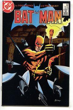 Batman 393 DC 1986 NM 1st Cossack Russian Spy Doug Moench Paul Gulacy