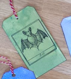 Tag by Sabine Werner-Bäsel # The Halloween rubber stamp can be found here: https://www.etsy.com/listing/185186507/halloween-rubber-stamp-cute-bat-stamp?ref=shop_home_active_3