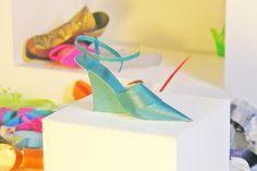 Carlos Molina's paper shoes