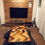 fuguri303の人気のインテリア実例 Flat Screen, Contemporary, Rugs, Wood, Home Decor, Interiors, Living Room, Houses, Blood Plasma