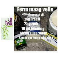 28 Dae Dieet | Ferm Maag Velle Room 28 Dae Dieet, Coffee Cans, Health And Beauty, Coconut Oil, 28 Days, Diet, How To Plan, Room, Bedroom