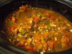 Crock Pot Vegan Pumpkin Chili | Meatless Everyday