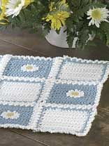 free crochet placemat patterns from free-crochet.com